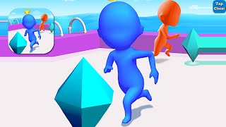 Diamond Race 3D 🎮 All Levels Gameplay Android iOS Max Level Deathmatch