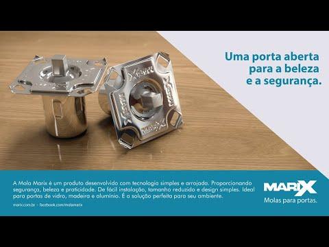 Guia de Instalação da Mola Marix em Portas Pivotantes de Madeira