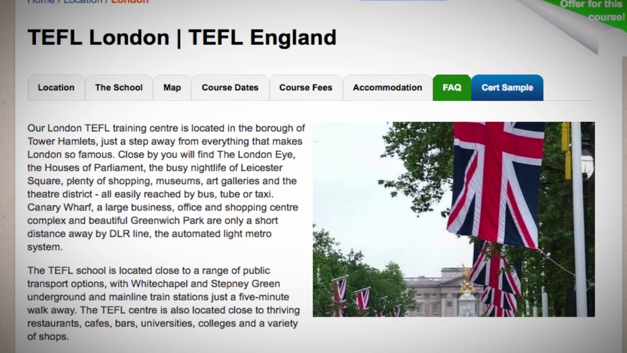 Welcome To Our Tefl Tesol School In London England Teach Live Abroad