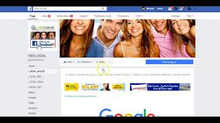 YES LOCAL FACEBOOK GOOGLE SEARCH DIRECTORY
