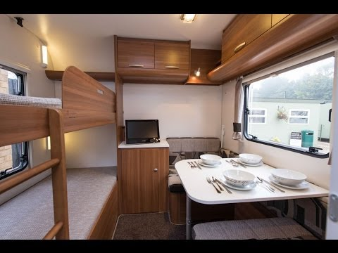 Adria Sportline DK 2014 touring caravan - based on Adria Altea Severn - walk through, tour, demo