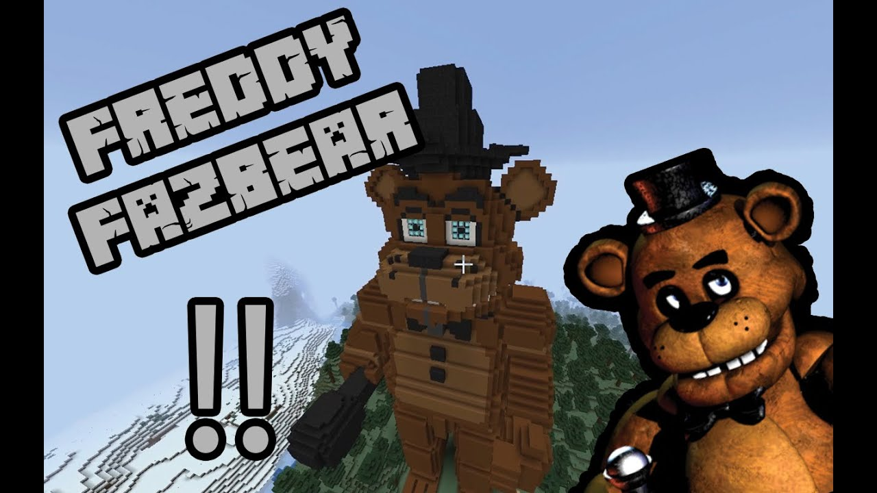 Freddy Fazbear's Pizza Minecraft Project