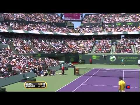 Nadal vs Roddick Sony Ericsson Open 2010 SF FULL MATCH (Miami Masters ATP 1000)