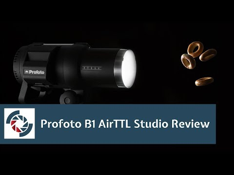 Profoto B1 AirTTL Review in the studio: Features and flash duration examined