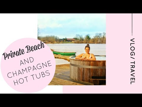 Staying in a Log Cabin in the Cotswolds with a Private Beach and Hot Tub! | Katie KALANCHOE