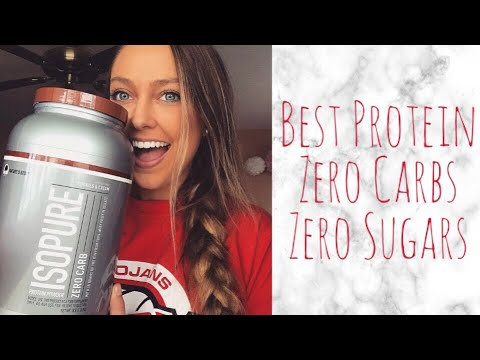 Nature's Best Isopure Zero Carb Protein Powder Review