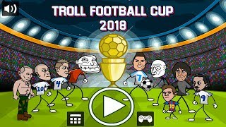 Troll Football Cup 2018 By Silver Games Walkthrough Gameplay