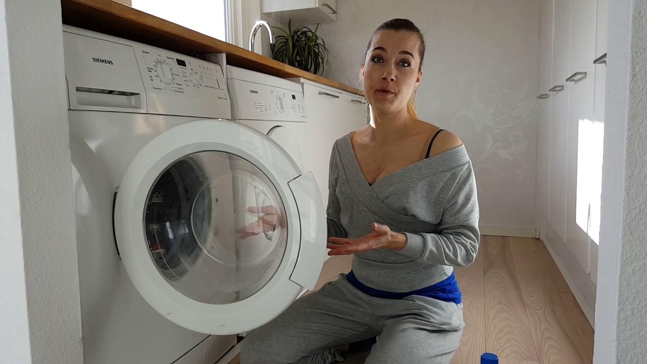 Ninas fede fif om rengøring - og om dårlig lugt i vaskemaskinen - YouTube