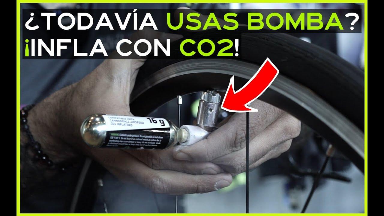 Una vez que uses el CO2 nunca querrás volver a usar la incómoda bomba portatil
