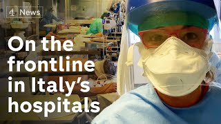 Inside intensive care unit: Italy fights coronavirus outbreak