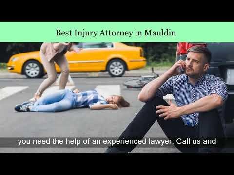 Injury Lawyer In Mauldin |  Top Personal Injury Attorney Mauldin | Work Injury Lawyers In Mauldin SC