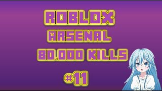 IPAD ROBLOX ARSENAL GAMEPLAY #11