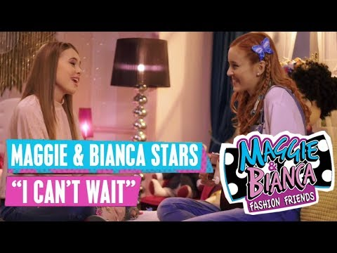 MAGGIE & BIANCA 🎵 Maggie & Bianca Stars - I Can't Wait | Disney Channel Songs