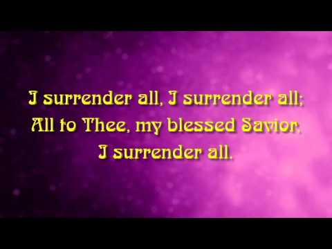 I Surrender All (CeCe Winans) - MVL - roncobb1