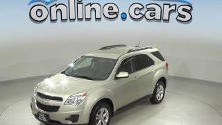R10105NC Used 2015 Chevrolet Equinox LT AWD SUV Gold Test Drive, Review, For Sale