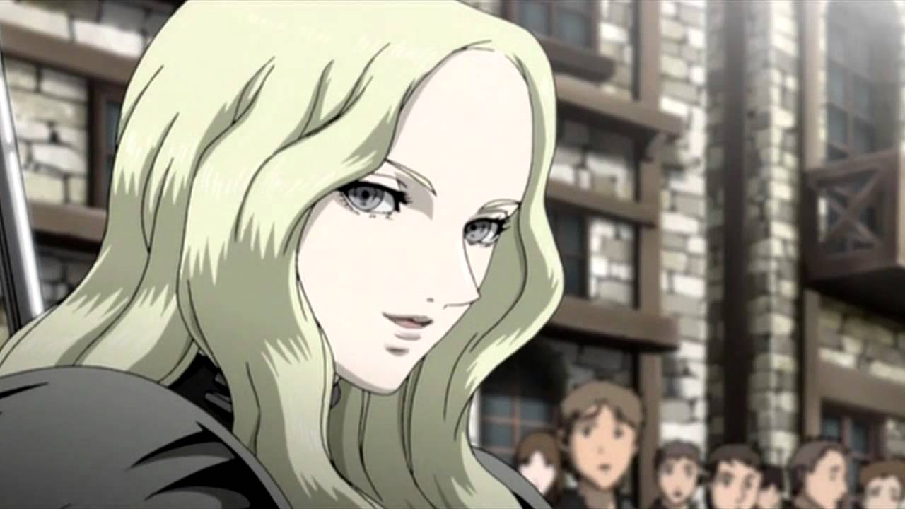 Strong Girl Wallpaper Claymore Teresa And Clare Amv Ghost Brigade In The