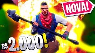 SKIN DE **R$2.000** NO FORTNITE! - 15K Game - (Fortnite)