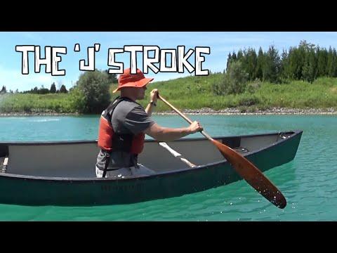Paddling Lessons: The J Stroke vs. the River J