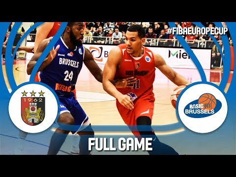 Egis Körmend (HUN) v Basic-Fit Brussels (BEL) - Full Game - FIBA Europe Cup 2017-18