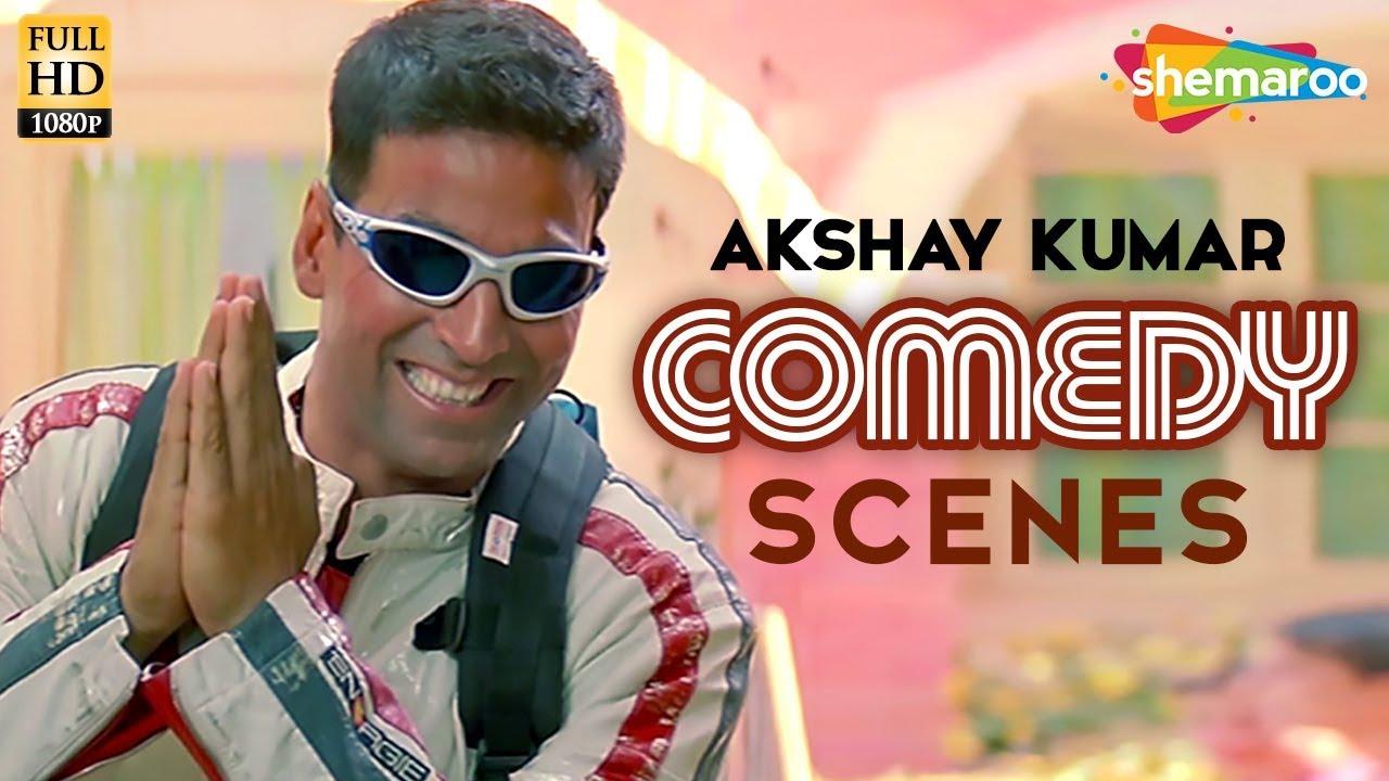 Best of Akshay Kumar comedy scenes from  Mujhse Shaadi Karogi | Amish Puri | Salman Khan | 2.0