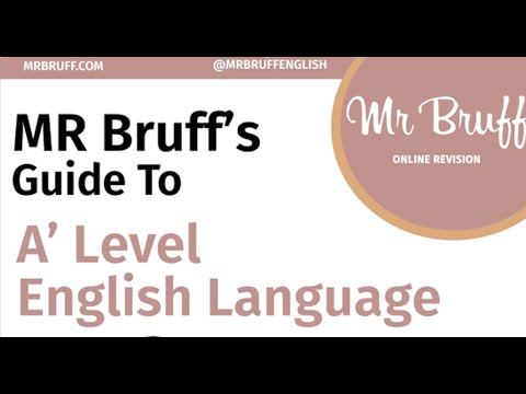 English Language A' Level Guide is Here!