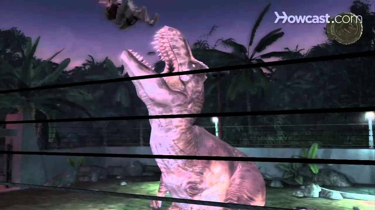 Jurassic park the game dino deaths hd youtube - Dinosaure de jurassic park ...