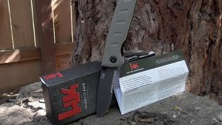 Big 5 H&K Espionage Benchmade - Torture Test