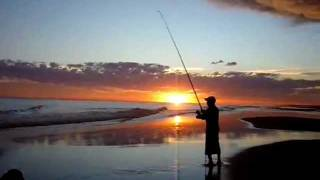 pesca en balneario marisol
