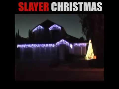 Raining blood- slayer on christmas lights