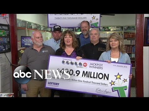 Tennessee 20 Lotto Winners Interview