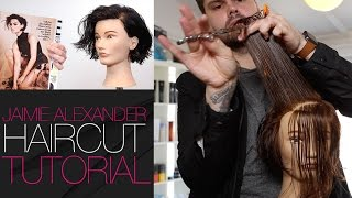 Jaimie Alexander Haircut Tutorial From Blind Spot | MATT BECK VLOG 25