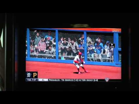 Met's Fan Fails at Throwing His Beer on Grady Sizemore