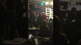 Conor McGregor and Sergey kovalev heated argument?
