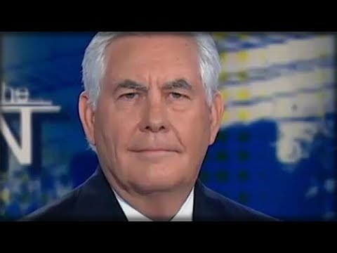 """AFTER SEN. BOB CORKER CALLED HIM """"CASTRATED,"""" REX TILLERSON LOOKED INTO THE CAMERA AND MADE HIM CRY"""