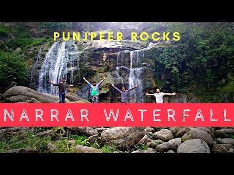 Narar Waterfall Panjpeer Rocks Kahuta Tour   Yamaha YBR 125 G Pakistan