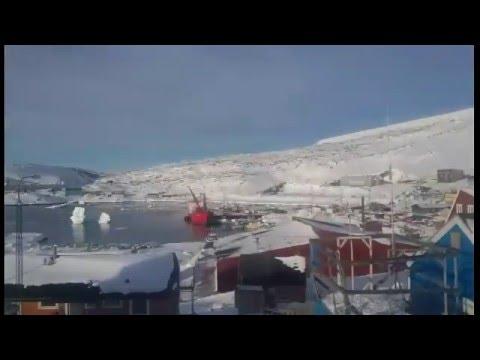 Indtryk fra Upernavik på Grønland