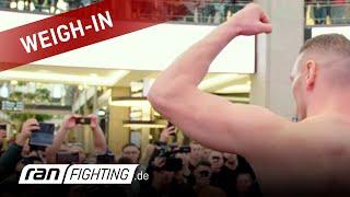 GMC 23: Waage im CENTRO Oberhausen - das größte deutsche MMA Event kann kommen!