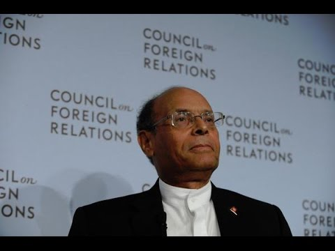 Tunisian President Marzouki on Elections, Economy, and Regio