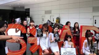 SDN48 シンガポール SDN48 in Singapore. Video by Lyrad of AtariMae...