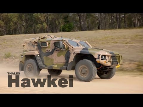 Hawkei Protected Mobility Vehicle (PMV)