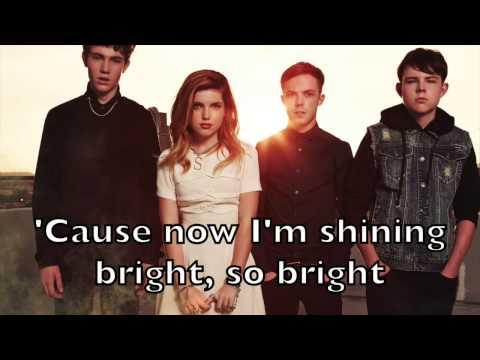 Echosmith - Bright Karaoke Acoustic Instrumental Cover Backing Track + Lyrics