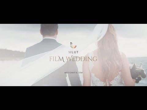 mLUT Film Wedding - 25 Beautiful Wedding LUT Files - MotionVFX