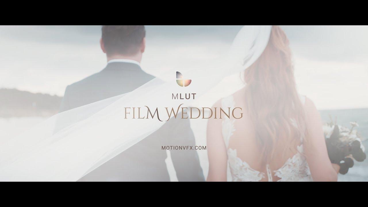 mLUT Film Wedding - 25 Professional LUT Pack For Wedding Videos