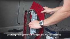 Rücklicht wechseln Mercedes A-Klasse w169