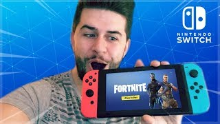 Fortnite NINTENDO SWITCH Gameplay! SWITCHED to Xbox One X