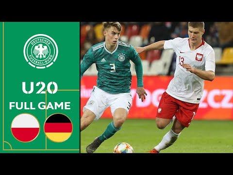 Poland vs. Germany 0-2 | Full Game | U20 Friendly