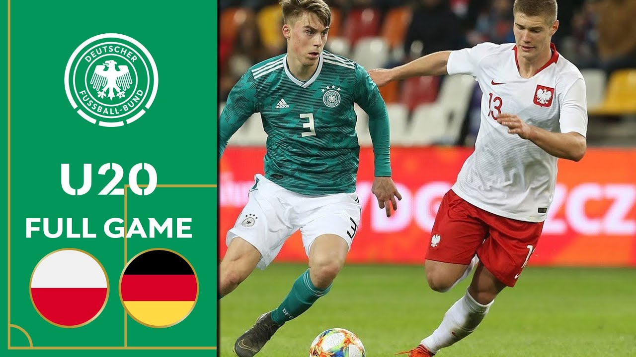 Poland vs  Germany 0-2 | Full Game | U20 Friendly
