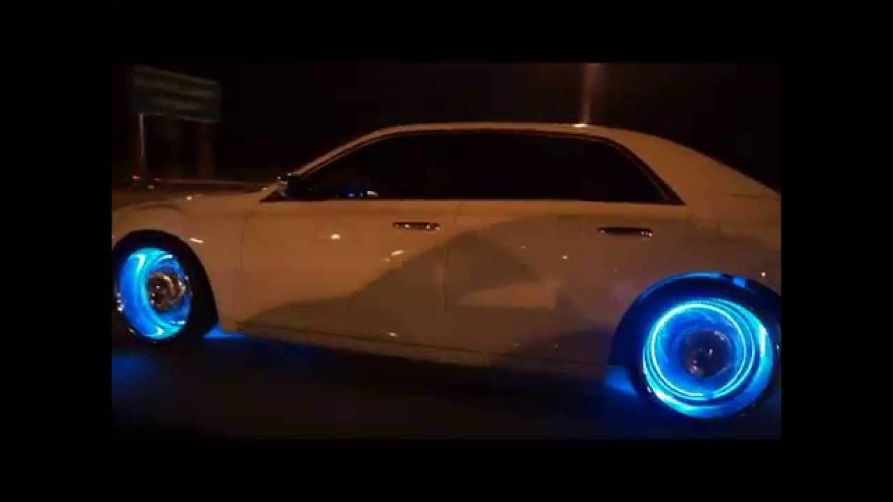 Chrysler 300c Led Rims Youtube