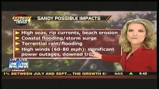 Hurricane Sandy to be Direct Hit on New Jersey, New York   Superstorm Frankenstorm Oct 25 11 00am