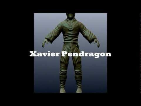 Eternal Champions Xavier fan demo from Project Champion